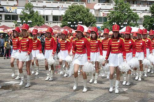 parada majoretelor Satu Mare