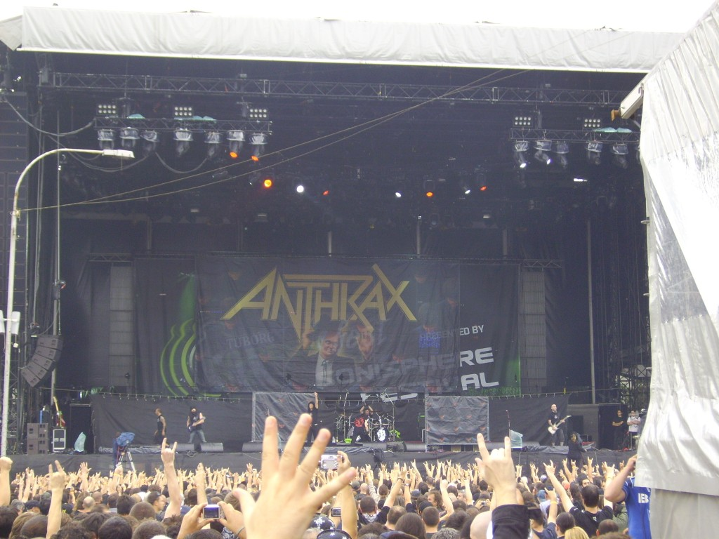 Anthrax_Sonisphere Bucuresti