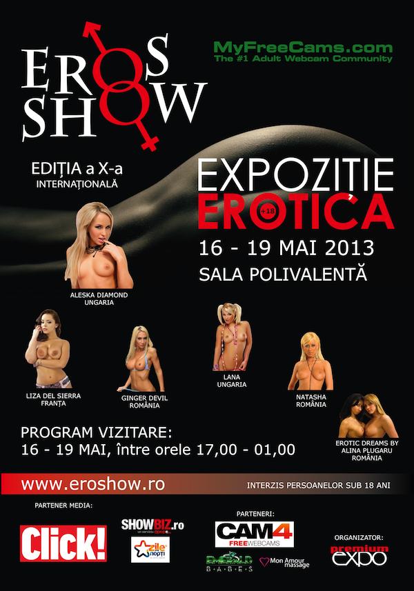 eros show bucuresti 2013