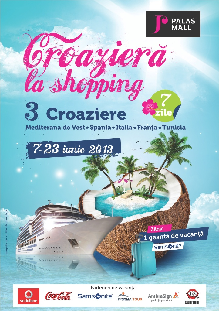 Croaziera la shopping