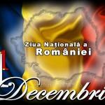 Ziua Nationala a Romaniei 1decembrie