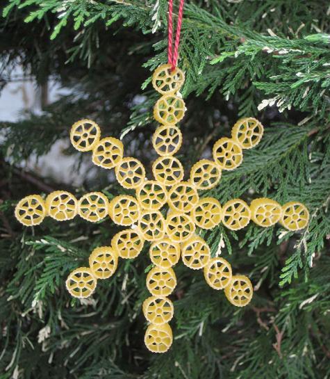 Decoratiuni Din Paste Fainoase Ornamente De Craciun Din