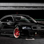 audi a4 tuning black
