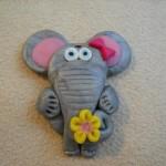 martisor fimo elefant