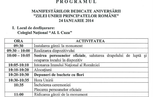 program-Ziua-Unirii-24-ianuarie-2014-Ploiesti