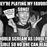 annoying concert girl
