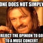 muse concert meme