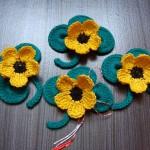 martisoare crosetate 2015 - flori