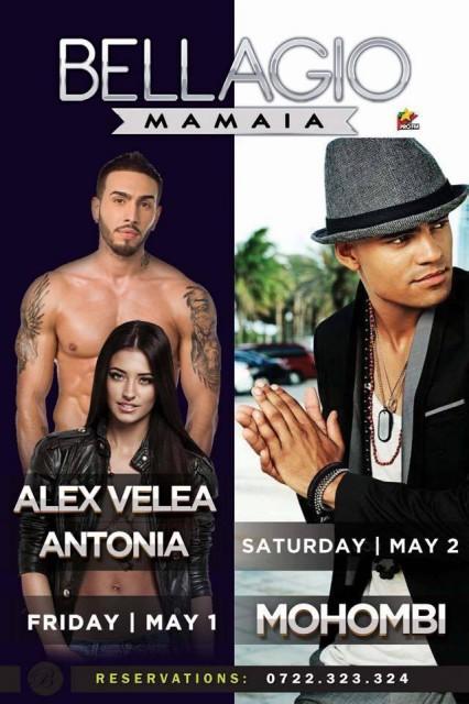 afis Bellagio Mamaia 1&2 Mai