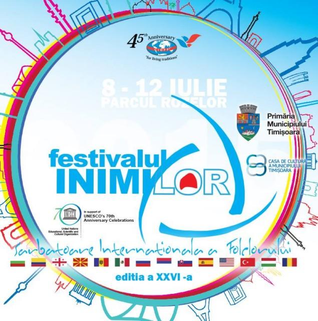 Festivalul Inimilor 2015 la Timisoara