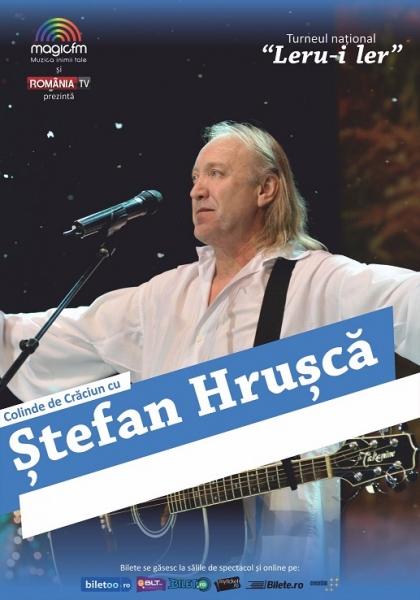 Stefan Hrusca - turneu colinde Leru-i Ler 2015
