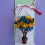 idei martisoare flori naturale uscate
