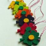 martisoare din fetru diverse flori