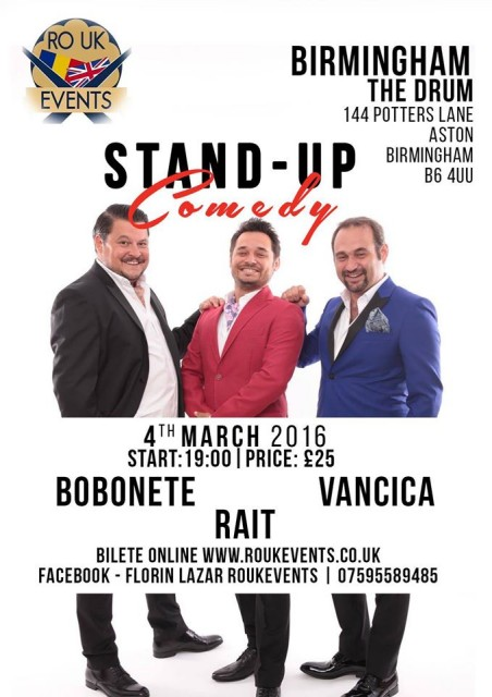 standup comedy cu bobonete 2016