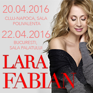 LARA FABIAN - Cluj 2016