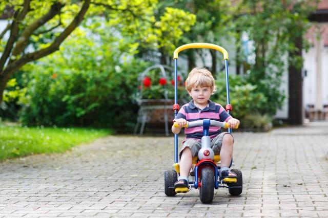 triciclete pentru cei mici