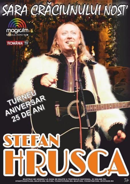 Concert de colinde Stefan Hrusca - Sara Craciunului Nost - 2016