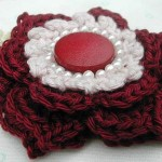 Idee martisor crosetat floare