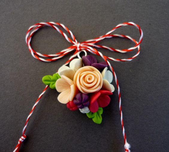 Martisor fimo - floare