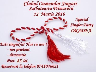 oradea singles Academic singles este unul dintre cele mai sigure și mai renumite site-uri pentru întâlniri din românia  oradea, craiova, bacău, constanța, bucurești.