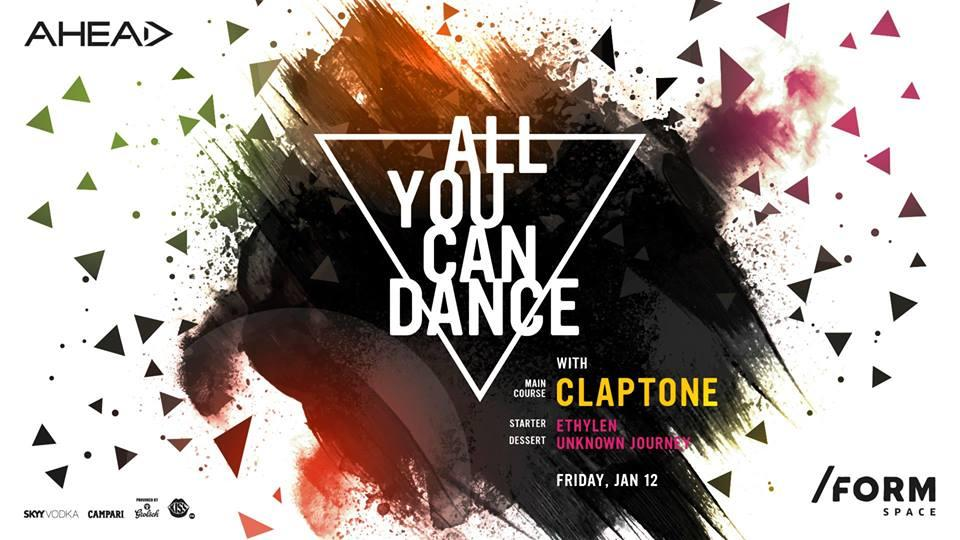 all you can dance with claptone