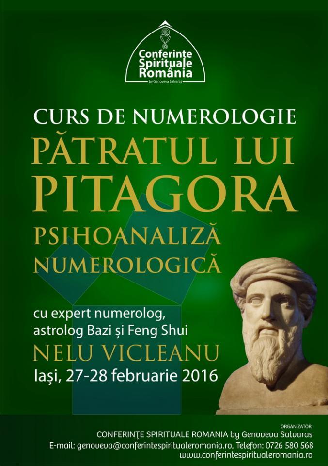 Curs De Numerologie Stiintifica Iasi 27 28 Februarie 2016
