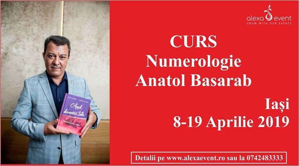 Curs Numerologie Cu Anatol Basarab La Iasi
