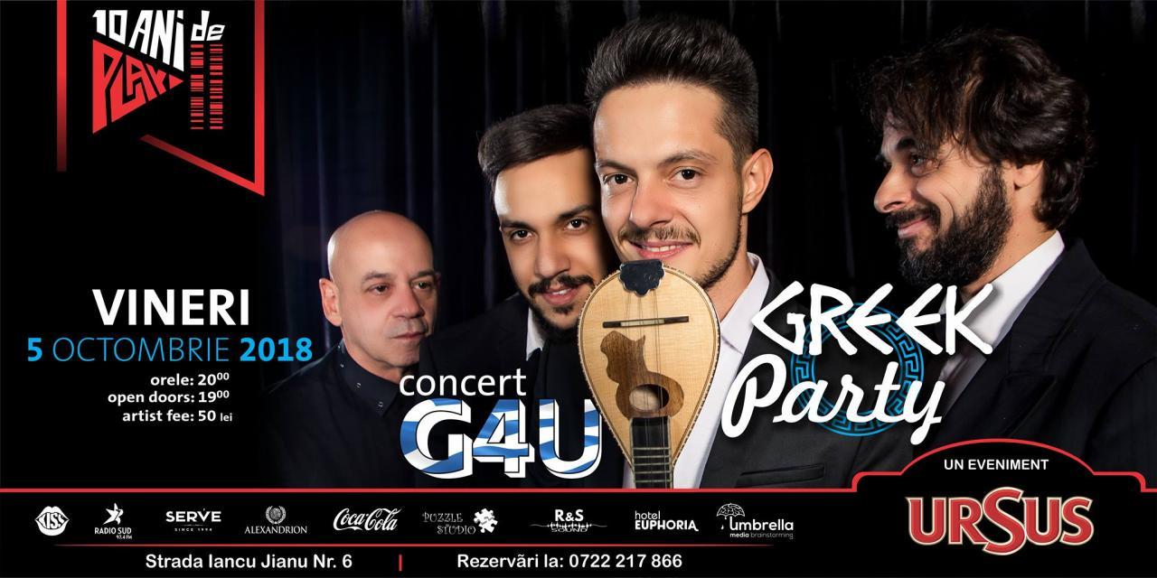 Greek 4u Concert Si Petrecere Greceasca