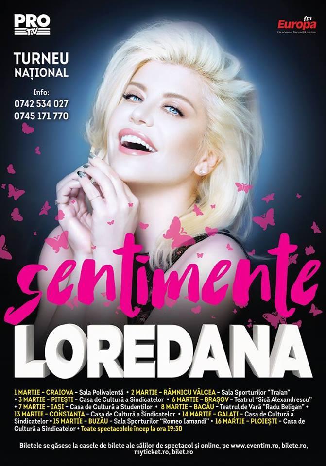 Loredana - Sentimente concert in Pitesti