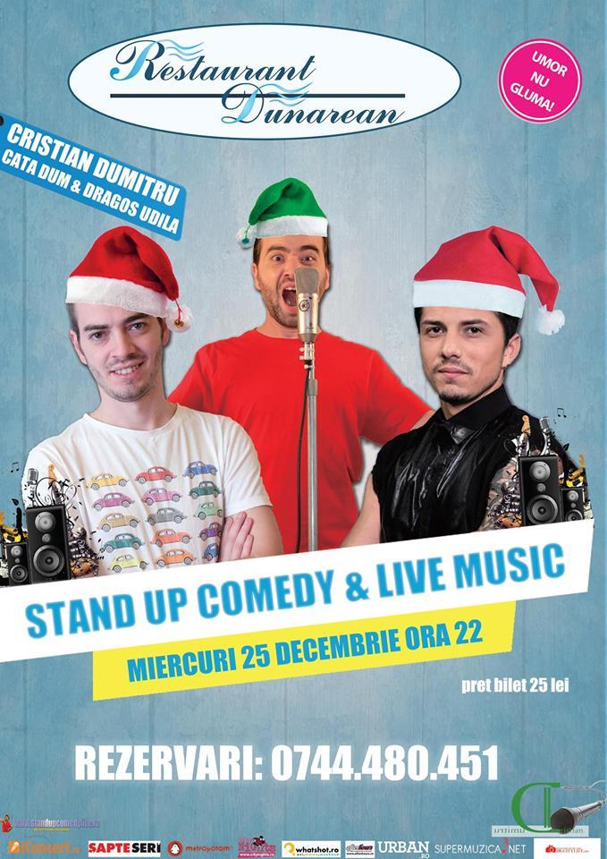 stand-up comedy & live music zimnicea