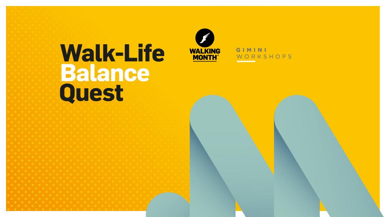 walk life balance quest