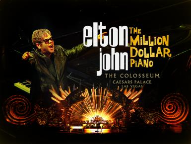 poze elton john the million dollar piano