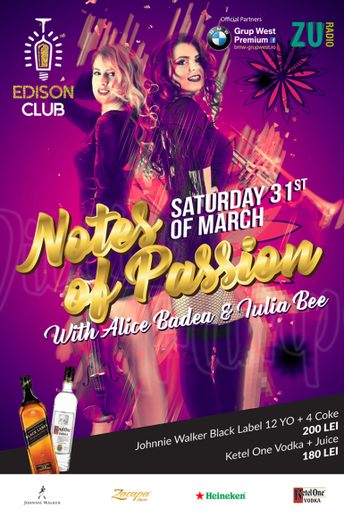 poze 31 03 notes of passion w alice badea iulia bee edison club