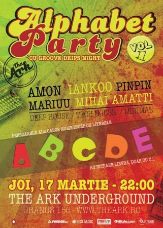 poze alphabet party vol 1 cu groove drips night in the ark