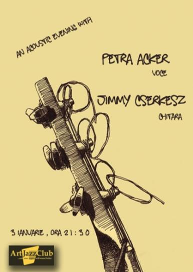 poze an acoustic evening with petra acker si jimmy cserkesz