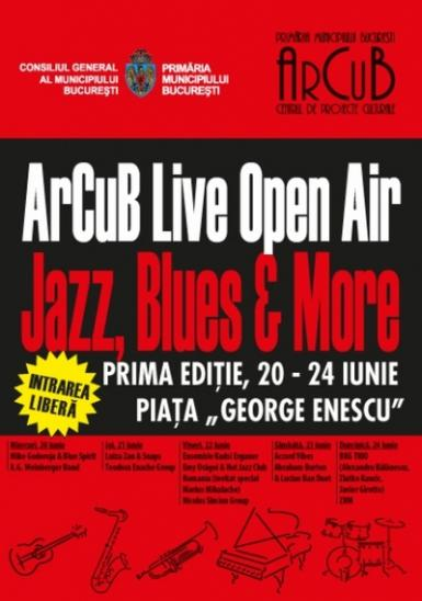 poze arcub live open air jazz blues festival