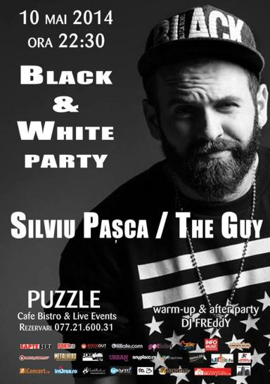 poze black white party special live performance by silviu pasca