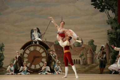 poze bolsoi teatr live in hd coppelia