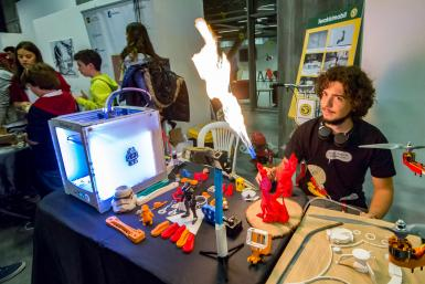poze bucharest mini maker faire