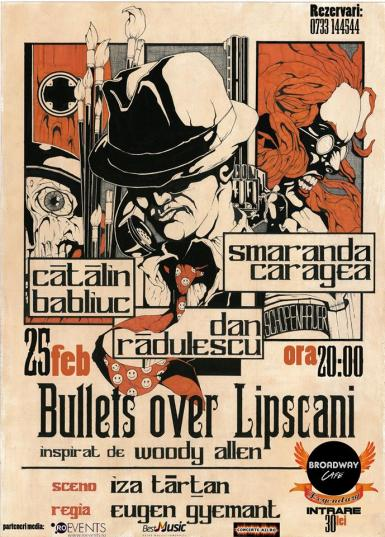 poze bullets over lipscani in broadway legendary constanta