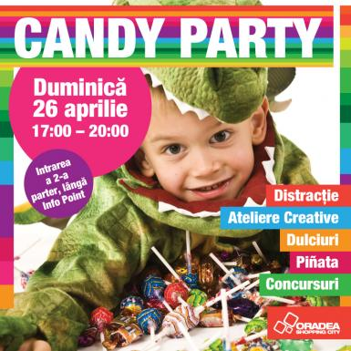 poze candy party la oradea shopping city