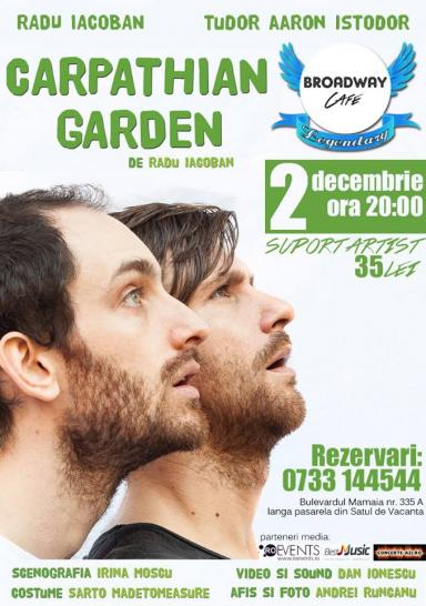 poze carpathian garden de radu iacoban in broadway legendary constanta