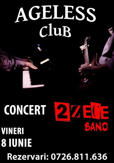 poze concert 2 zece band in ageless club