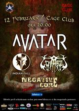 poze concert avatar indian fall si grimegod in cage club
