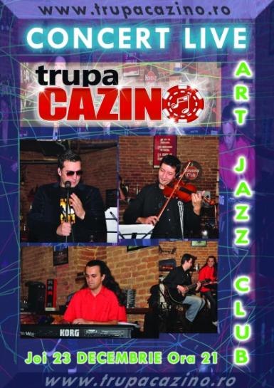 poze concert cazino in art jazz club