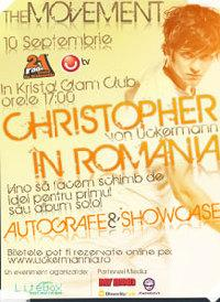 poze concert christopher uckermann in romania