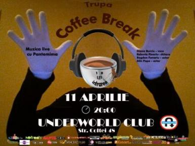 poze concert coffee break in club underworld