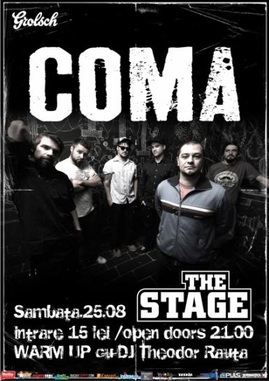 poze concert coma in the stage club