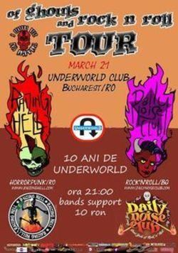 poze concert daily noise club raizing hell in underworld