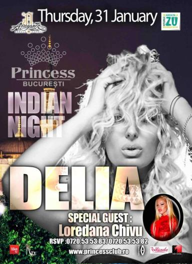 poze concert delia in princess club